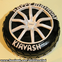 Nissan Tire Cake Nissan tire Cake