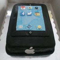 Ipad Made For A Friend Filling With Cheese Cake Ipad made for a Friend Filling with cheese cake .