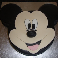 My First Mickey Cake   my first mickey cake