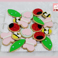 Garden Theme Assorted Cookies