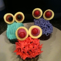 Monster Cupcakes Monster cupcakes