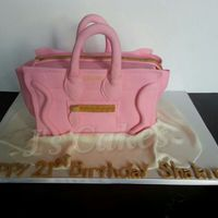 Celine Paris Purse Cake Celine Paris purse cake