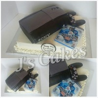 Ps3 Cake PS3 cake