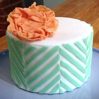 Vanilla Cake With Vanilla Bc Filling Mcf Stripes And Flower Taken From Jessica Harris Craftsy Class Vanilla Cake with vanilla BC filling. MC/F stripes and flower, taken from Jessica Harris Craftsy Class