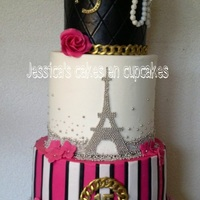 Birthdaycake Chanel Cake!