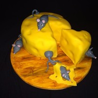 Mouses In Cheese-Cake