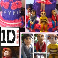 1D (One Direction) Cake 1D (one direction) theme cake..