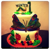 "Book Theme based on children's book ""The very hungry caterpillar"""