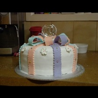 2Nd Fondant Cake That I Made 2nd fondant cake that I made