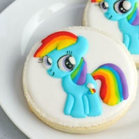 My Little Pony Rainbow Dash Cookies Easy Pin Prick Design Transfer Method Using And Airbrush Or Edible Mist Sprays My Little Pony, Rainbow Dash CookiesEasy Pin-Prick Design Transfer Method, using and Airbrush or Edible Mist Sprays