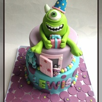 Monster Inc Cake Monster Inc. cake