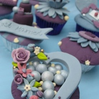 These Cupcakes Were For Cake Central Magazine And Were Published In Volume 3 Issue 6 Purple And Blue Inspiration Wedding Section Of Cake These cupcakes were for Cake Central Magazine and were published in VOLUME 3 ISSUE 6 Purple and Blue - Inspiration Wedding Section of Cake...