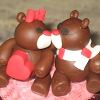 Valentine Day Kissing Bears Valentine Day kissing bears