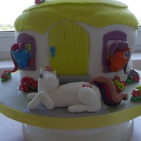 My Daughters My Little Pony Cake my daughters my little pony cake