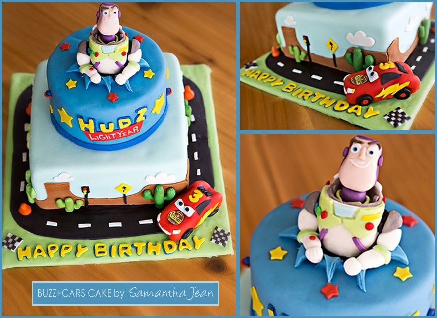Cars/buzz Lightyear Cake *