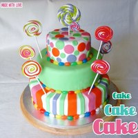 Candy Cake Candy Cake