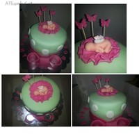Its A Girl Baby Shower Cake Soo Cute   its a girl baby shower cake soo cute.