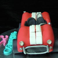 1965 Sheby Cobra My First Car Cake 1965 Sheby Cobra My first car cake