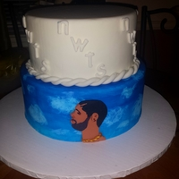 Trying To Step Out Of My Super Formal Cake Box I Was In My Studio Listening To Drake One Day And Decided To Try To Do A Cake In Honor Of Hi... Trying to step out of my super formal cake box. I was in my studio listening to Drake one day and decided to try to do a cake in honor of...
