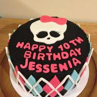 Monster High Birthday Cake monster high birthday cake