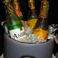 Griffs Goodies Sugar Champagne Bottles In Ice   Griffs Goodies Sugar Champagne bottles in ice