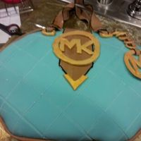 Michael Kor Purse Cake   My first purse cake! Please let me know how I did