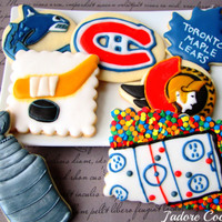 Nhl Hockey Playoff Cookies