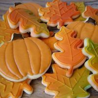 Autumn Leaf Cookies Autumn Leaf Cookies