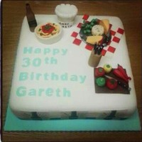 This Cake Was Made For One Of Jamie Olivers Chefs In Cardiff This cake was made for one of Jamie Oliver's chef's in Cardiff.