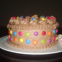 "Chocolate Cake Wacky Recipe Thanks Tails With Chocolate Buttercream And Obviously Smarties For Decoration Chocolate cake (Wacky recipe - thanks ""Tails"") with chocolate buttercream and obviously smarties for decoration"