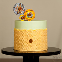 Spinning Love Hello everyone - I'm happy to share with you my husband's birthday cake. I hope that you like it! Leyda