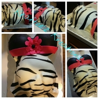 Zebra Theme Baby Shower Belly Cake This Was Only My Second Cake And The First Cake I Ever Got Paid For Zebra theme baby shower belly cake. this was only my second cake and the first cake I ever got paid for!
