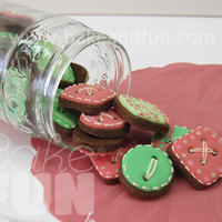 Cookies In A Jar Buttons? Cookies?...Cookies in a jar :-)