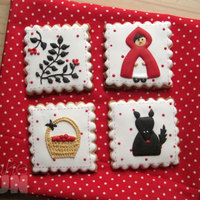 This Is Was Came To My Mind For The Inspiration Challenge Of Little Red Riding Hood My Family Was Eager To Eat The Cookies Before Taking Th... This is was came to my mind for the Inspiration Challenge of Little Red Riding Hood. My family was eager to eat the cookies before taking...
