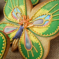 Butterfly Fairies - 3D-Cookies Fairies - Enchanted Forest Inspiration