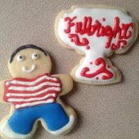 Nicholaus Fullbright Scholarship Cookies Nicholaus' Fullbright Scholarship Cookies
