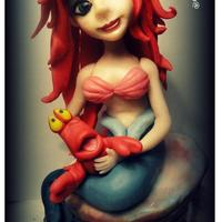 Mermaid ❤ Cake Topper