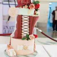 Art Nation Dubai 2014 - Fashion Fashion themed cake decoration competition. My entry was on Victorian fashion and Marie Antoinette's 'Let them Eat Cake'.