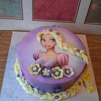 Tangled This cake I made for a 9 year old