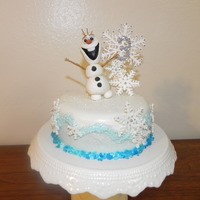 Olaf/ Frozen   My daughter wanted a Frozen theme birthday cake. This was my first attempt at making a figure. I was quiet pleased with it.