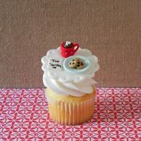 Thanksgiving And Christmas Cupcake Toppers