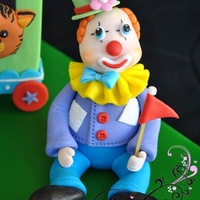 Clown Figurine 100 Edible Clown figurine 100% edible