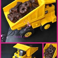 My First 3D Dump Truck Everything Is 100 Edible Even The Wheels Are Cake My first 3D Dump Truck! Everything is 100% edible - Even the wheels are cake!