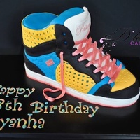 3D High Top Sneaker My first 3D High Top Sneaker!
