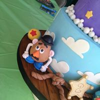 Toy Story Cake Or My Sons 2Nd Birthday Marks My One Year Of Cake Decorating All Figures Handmade With Fondant   Toy story cake or my sons 2nd birthday! Marks my one year of cake decorating! All figures handmade with fondant.