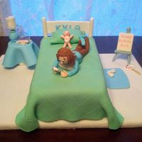 Birthday Cake I Made For My Grand Daughter It Is All About Her Favorites From Her Favorite Colors Blue And Green To Her Very Favorite Thi Birthday cake I made for my grand-daughter. it is all about her favorites from her favorite colors (blue and green) to her very favorite...