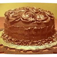 Chocolate Rose Cake Chocolate Rose cake