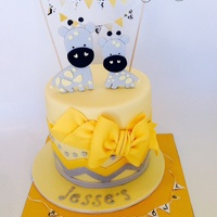 A Beautiful Baby Shower Cake Xxx