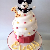 My First Ever Mickey Mouse Cakexxx My first ever Mickey Mouse cake;)xxx