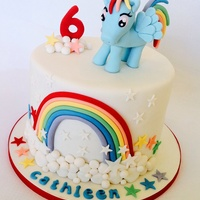 My Little Pony Rainbow Dash;) Love This Cake Xxxxxxxxx